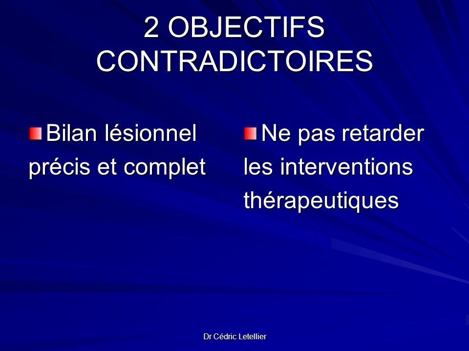 2 OBJECTIFS CONTRADICTOIRES