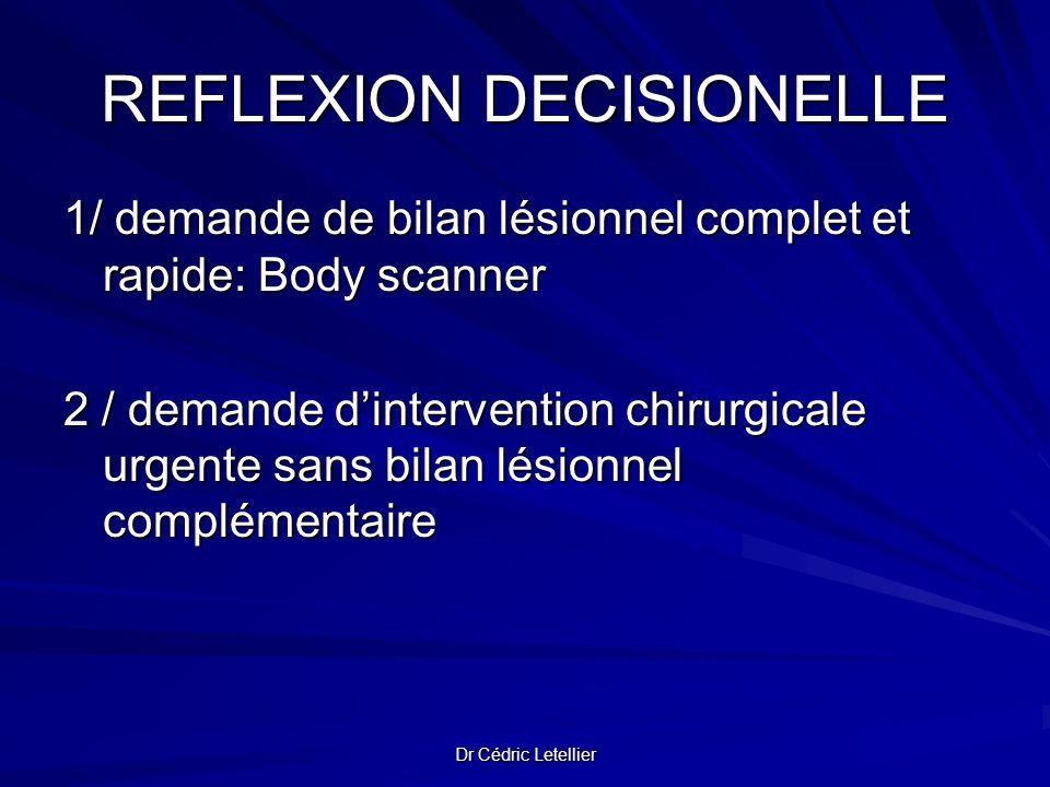 REFLEXION DECISIONELLE