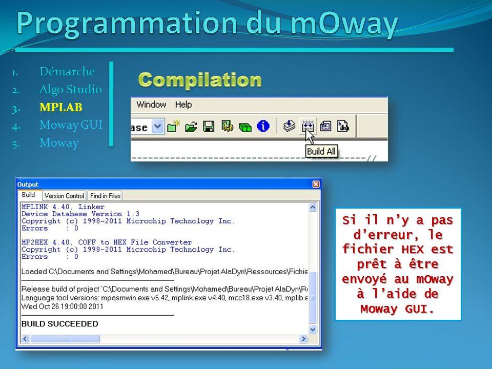 Programmation du mOway