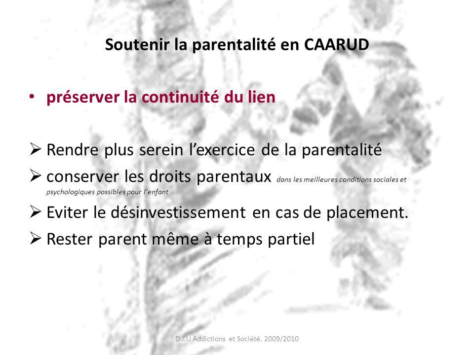 Soutenir la parentalité en CAARUD