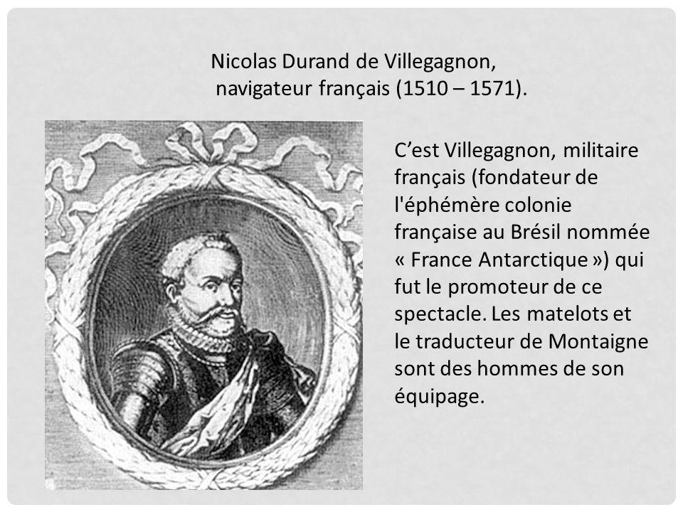 Nicolas Durand de Villegagnon,