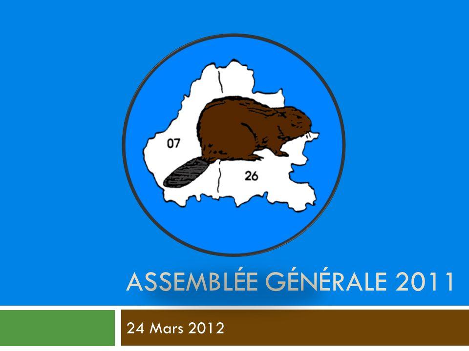 Assemblée générale 2011 24 Mars 2012