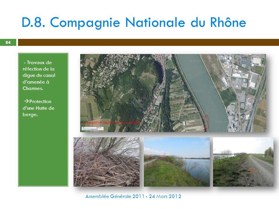 D.8. Compagnie Nationale du Rhône