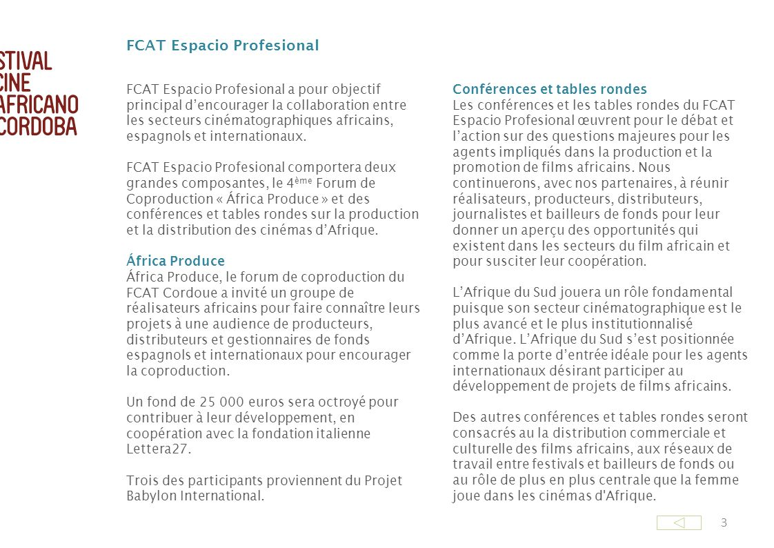 FCAT Espacio Profesional