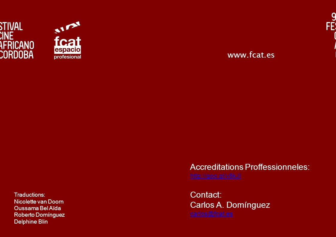 Accreditations Proffessionneles:
