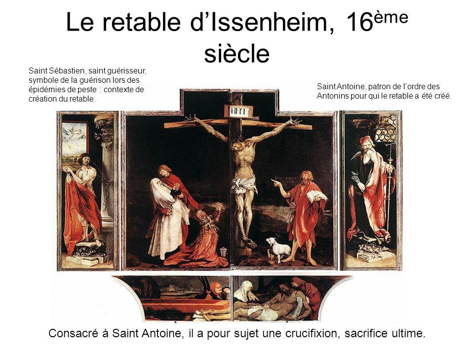 Le retable d'Issenheim, 16ème siècle