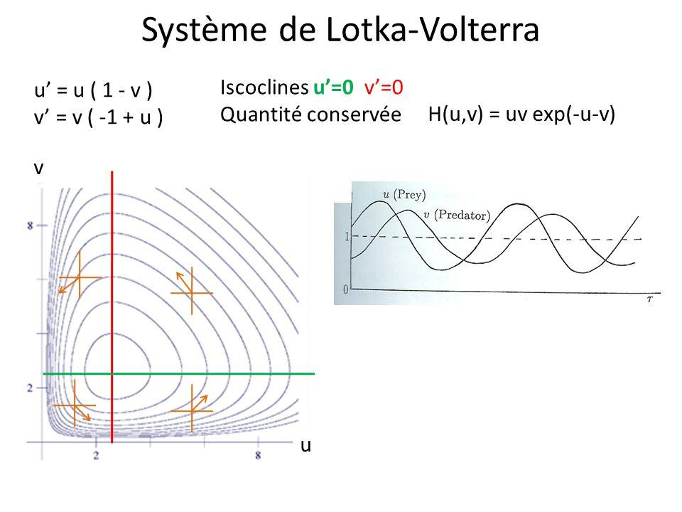 Système de Lotka-Volterra