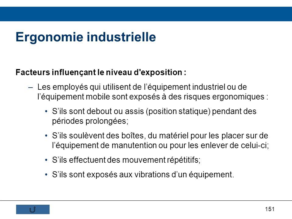 Ergonomie industrielle