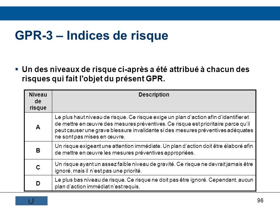 GPR-3 – Indices de risque