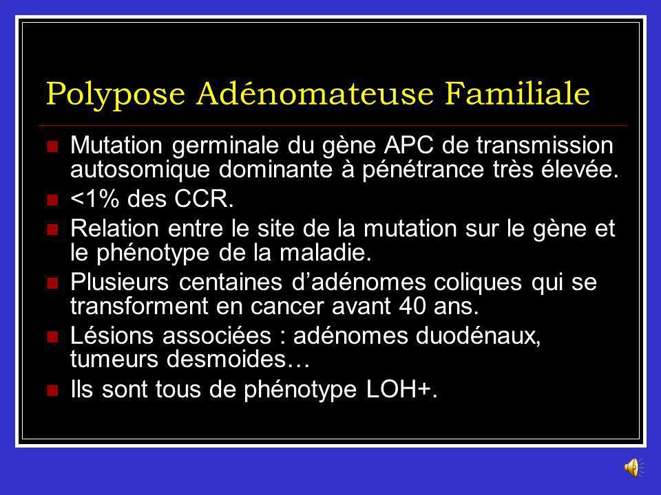 Polypose Adénomateuse Familiale