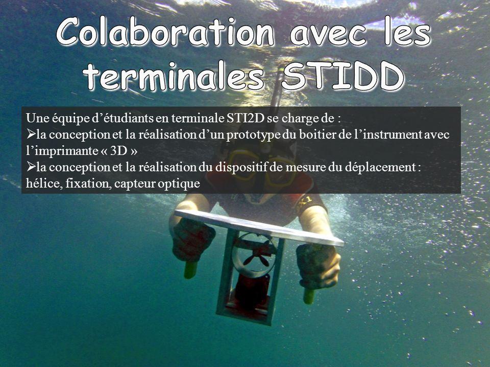 Colaboration avec les terminales STIDD