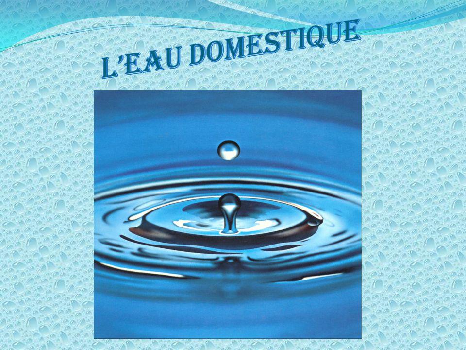 L'eau domestique