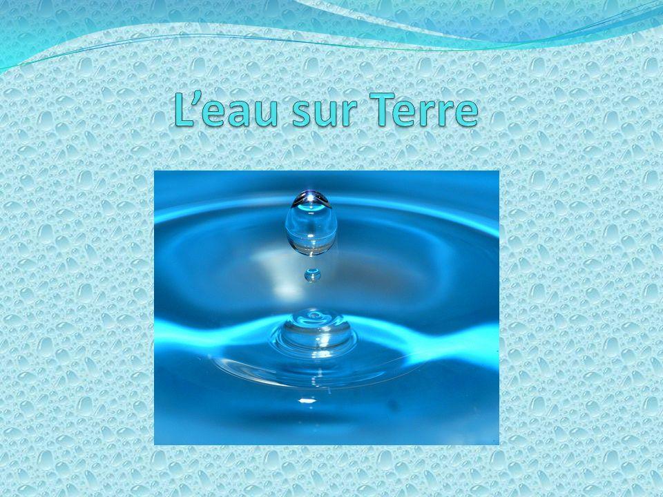 L'eau sur Terre