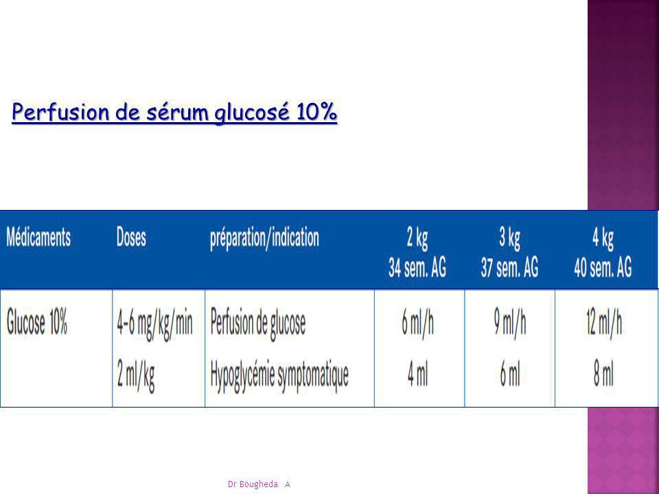 Perfusion de sérum glucosé 10%