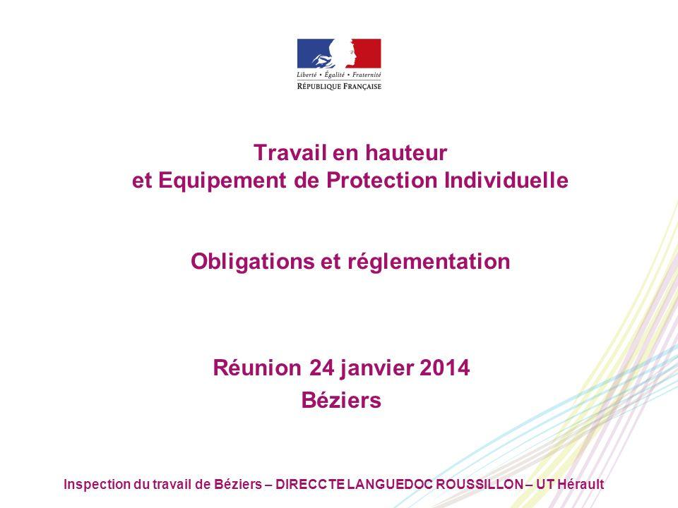 Réunion 24 janvier 2014 Béziers
