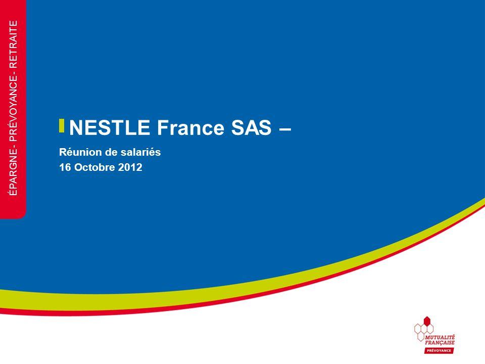 Réunion de salariés 16 Octobre 2012