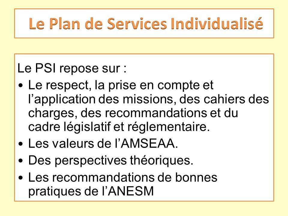 Le Plan de Services Individualisé