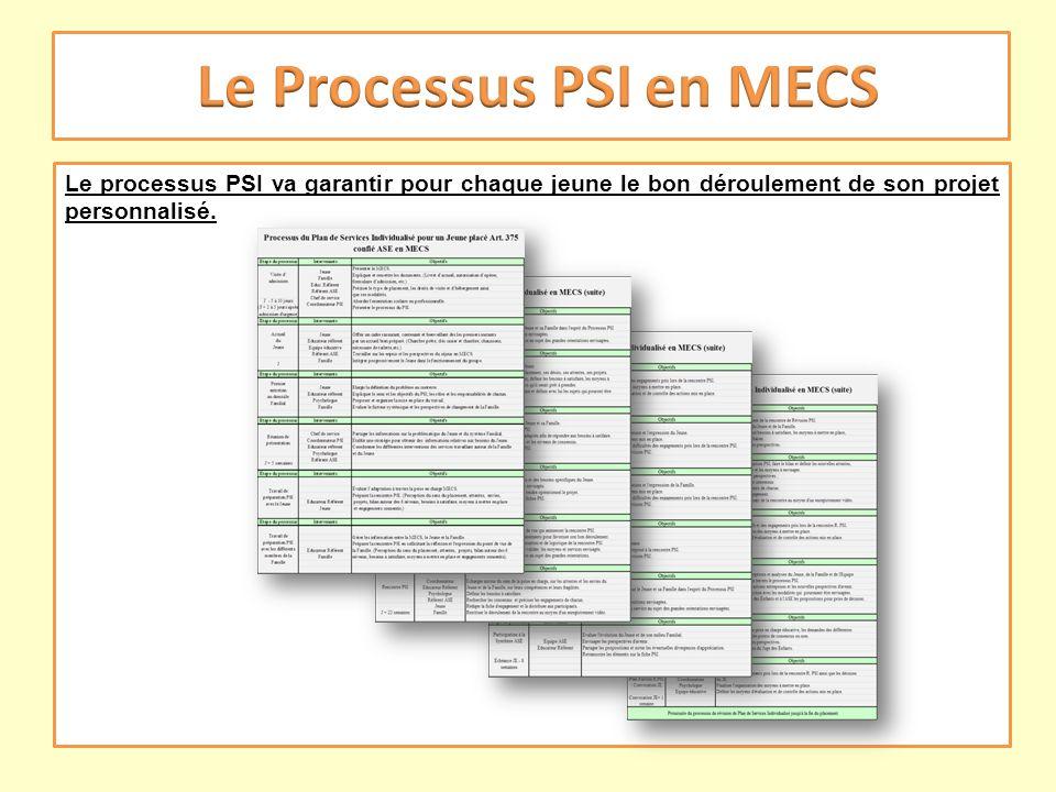 Le Processus PSI en MECS