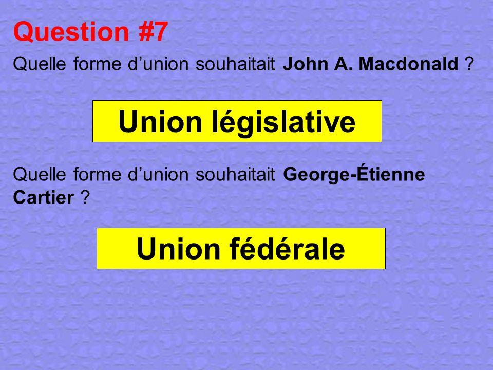 Union législative Union fédérale