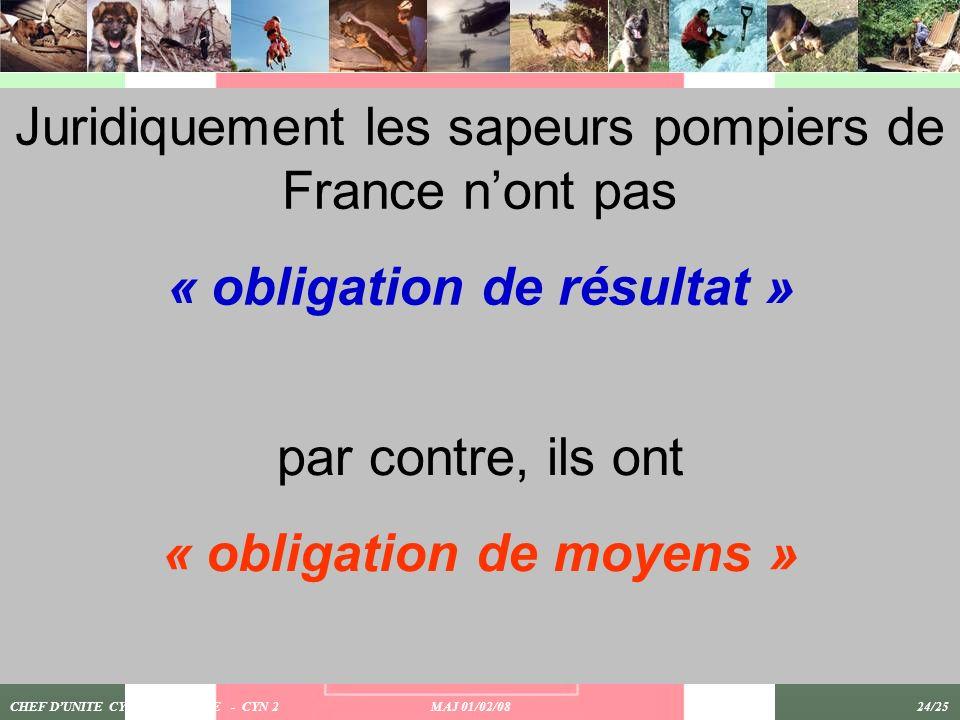 « obligation de résultat » « obligation de moyens »