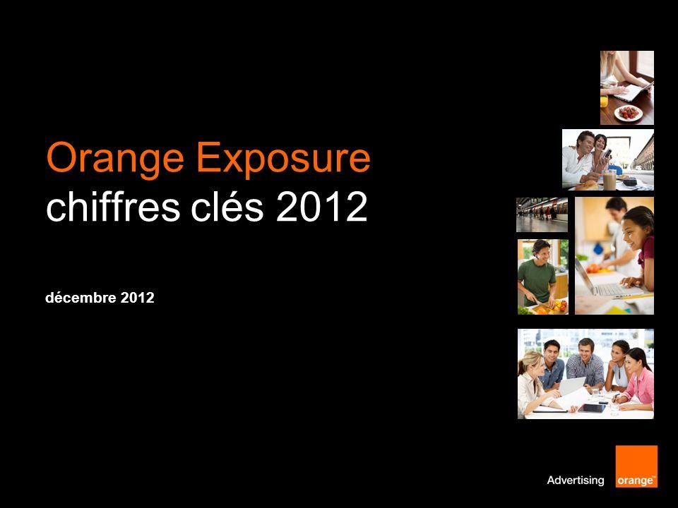 Orange Exposure chiffres clés 2012