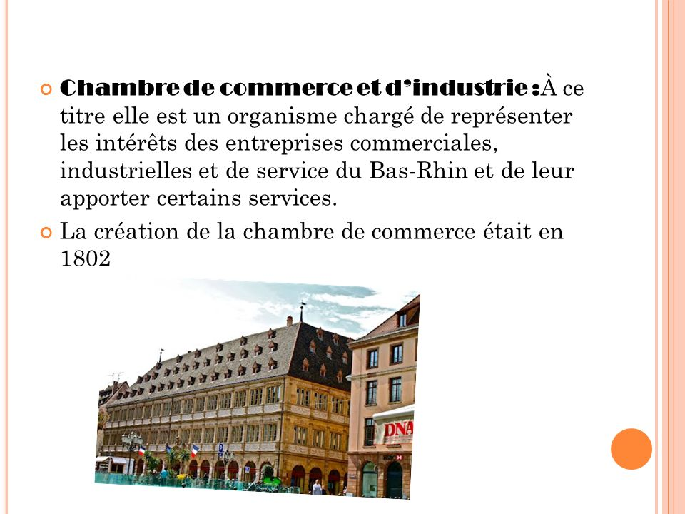 Strasbourg ppt t l charger for Chambre de commerce strasbourg