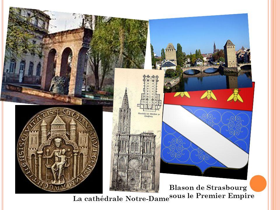 Blason de Strasbourg sous le Premier Empire