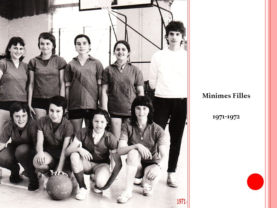Minimes Filles 1971-1972