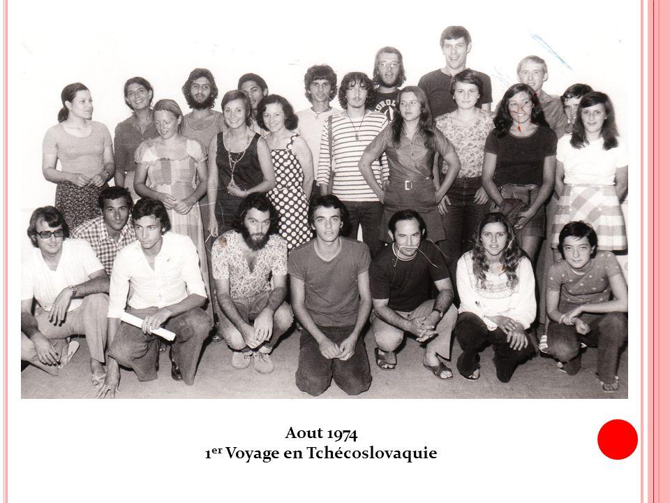 1er Voyage en Tchécoslovaquie