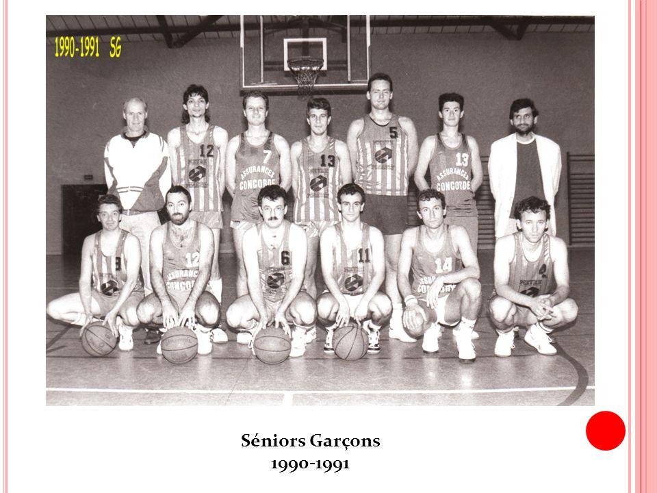Séniors Garçons 1990-1991