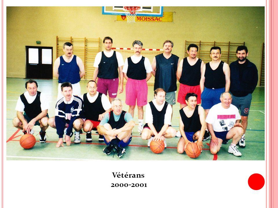 Vétérans 2000-2001