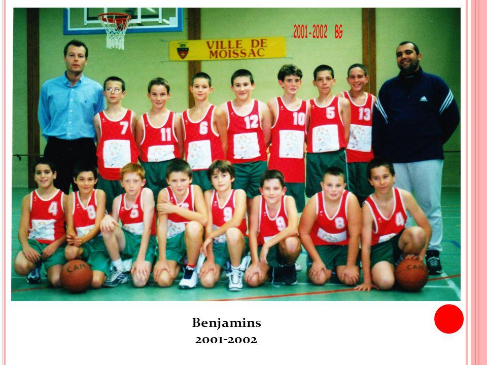 Benjamins 2001-2002