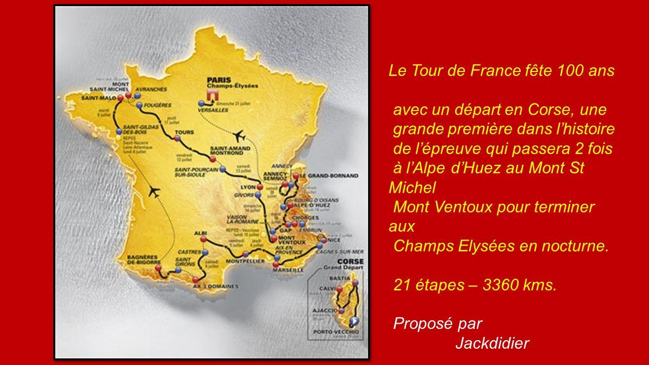 Le Tour de France fête 100 ans