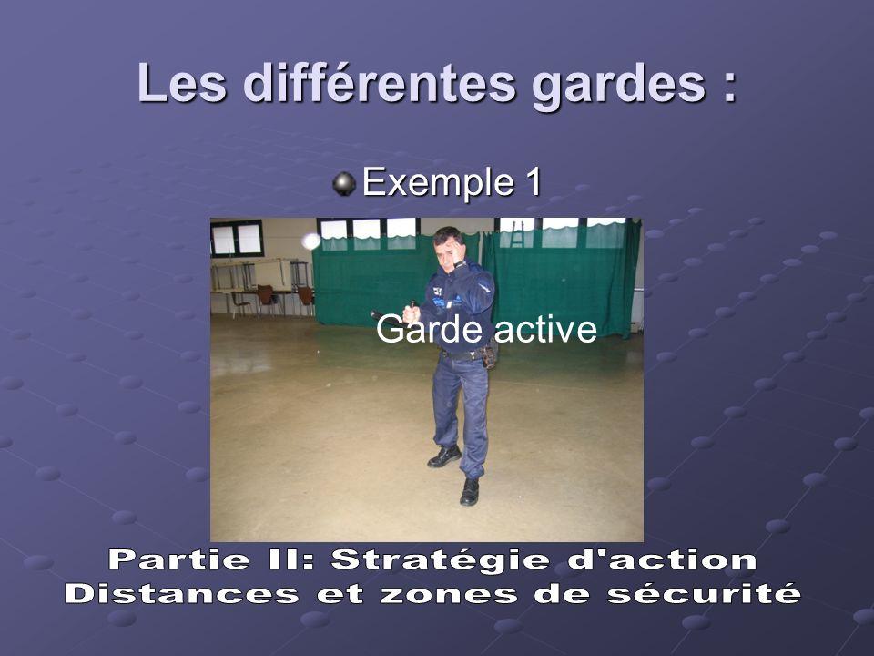 Les différentes gardes :
