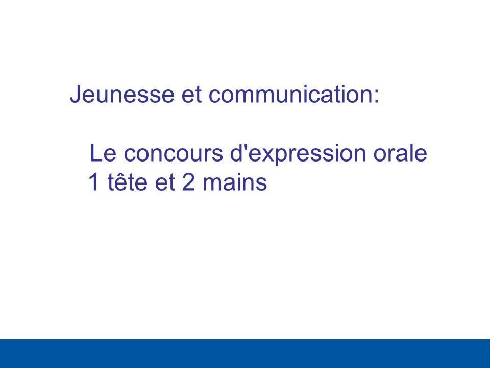 Jeunesse et communication:
