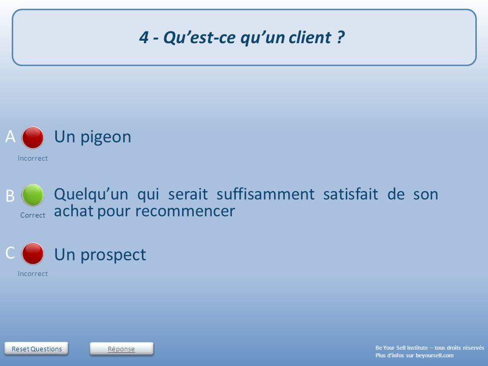 4 - Qu'est-ce qu'un client