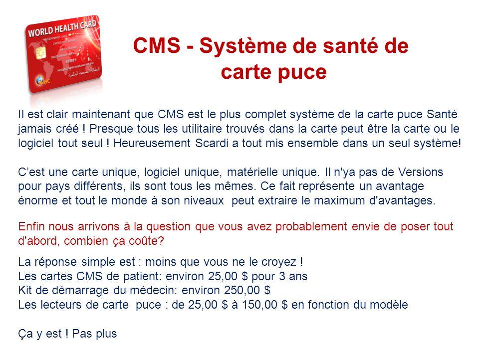 CMS - Système de santé de