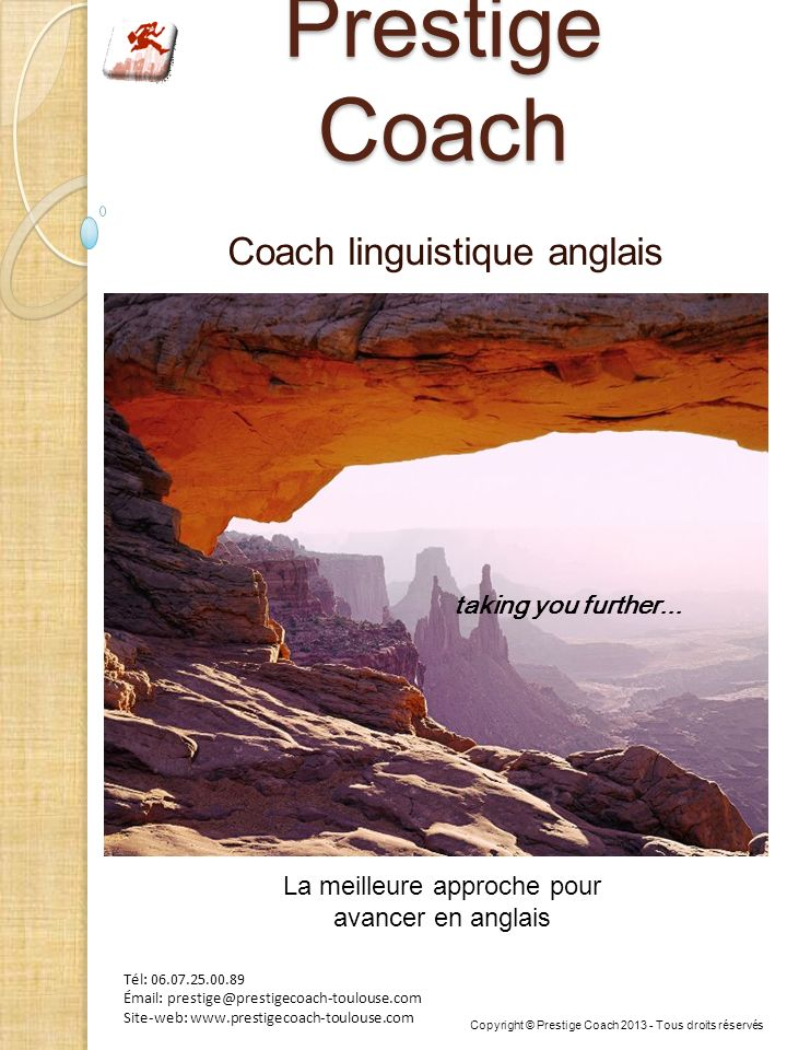 Coach linguistique anglais