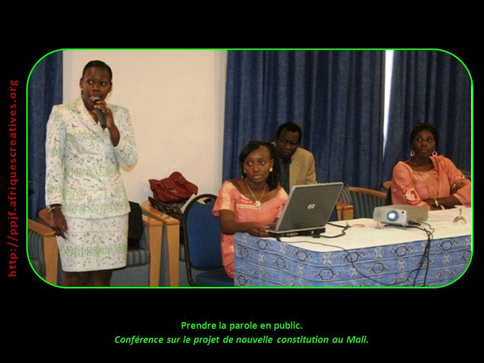 http://ppjf.afriquescreatives.org Prendre la parole en public.