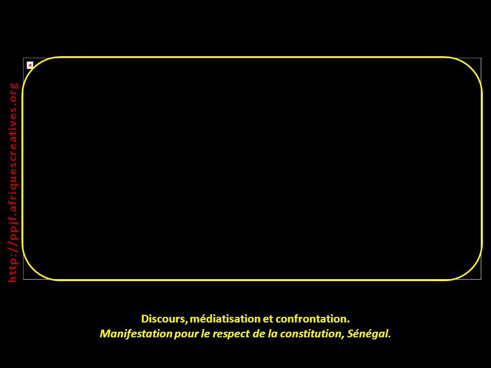 http://ppjf.afriquescreatives.org Discours, médiatisation et confrontation.