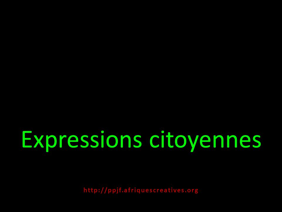 Expressions citoyennes