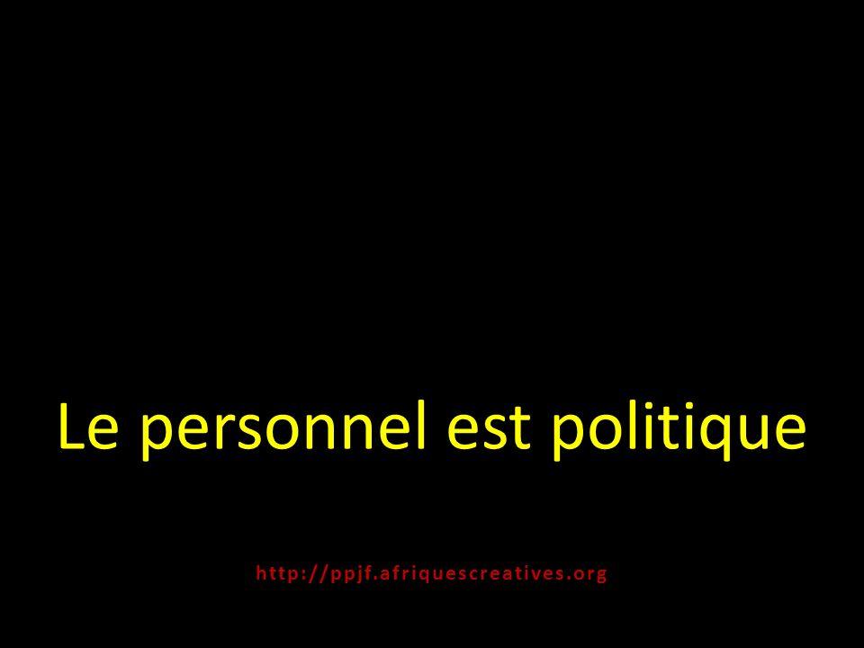 Le personnel est politique