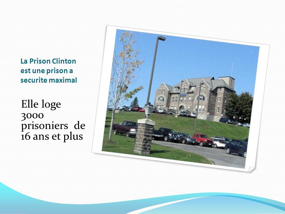 La Prison Clinton est une prison a securite maximal