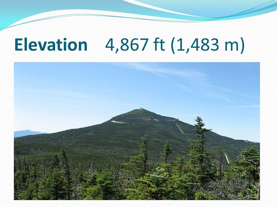 Elevation 4,867 ft (1,483 m)