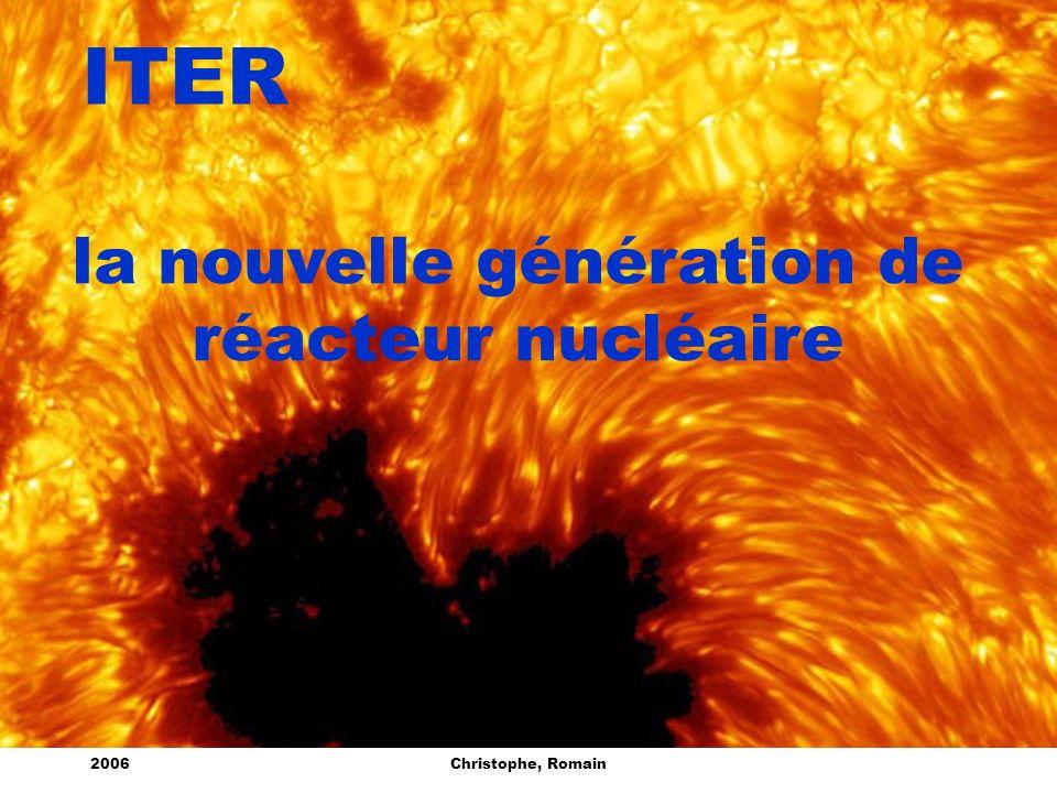 la nouvelle génération de réacteur nucléaire