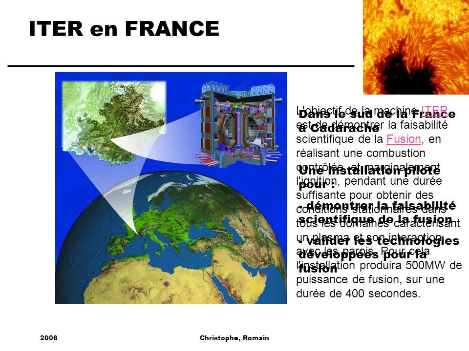 ITER en FRANCE