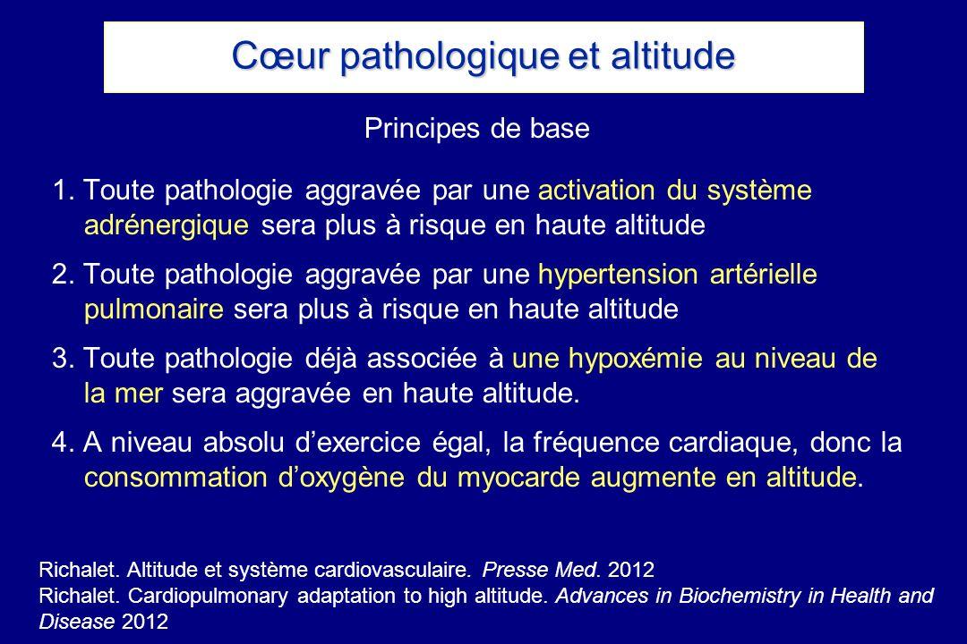 Cœur pathologique et altitude