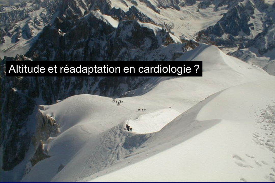 Altitude et réadaptation en cardiologie
