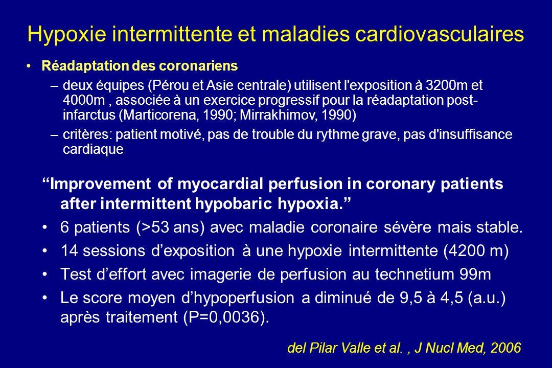 Hypoxie intermittente et maladies cardiovasculaires