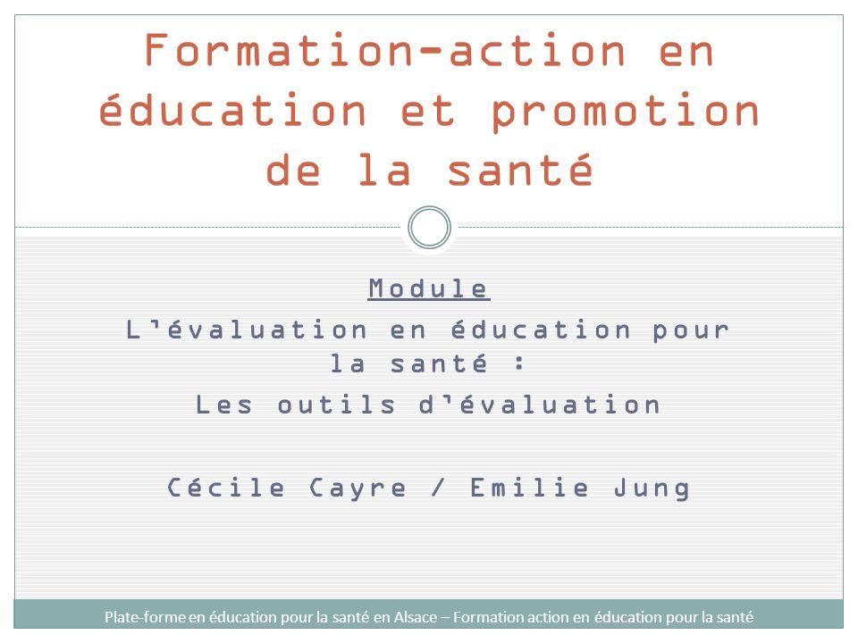 Formation-action en éducation et promotion de la santé